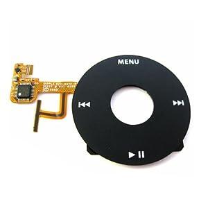 For Apple iPod Video 5th Gen Clickwheel Schwarz Ersatzteil Neu und OVP