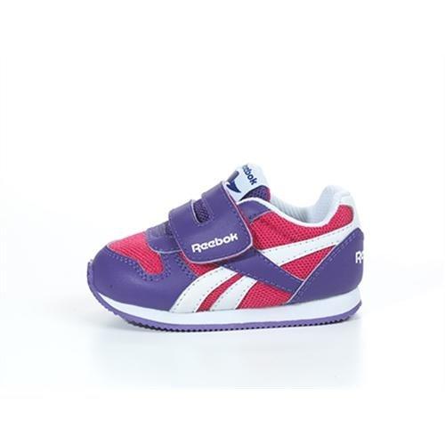 Reebok CL femmes Royal Jogger KC chaussures-Violet/Blanc/Rose-Taille 5