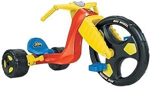 Big Wheel - ODAR49 - Vélo et Véhicule pour Enfant - Tricycle Big Wheel Spin Out Racer - 16 Pouces