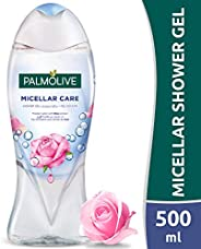 PalmoliveShower Gel MicellarCare with Rose Petal Extract and Micellar Water 500ml