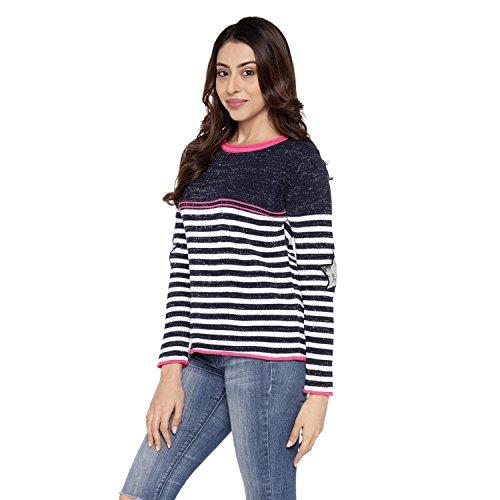 7c02524b919 Honey by Pantaloons Women s Round Neck Sweater