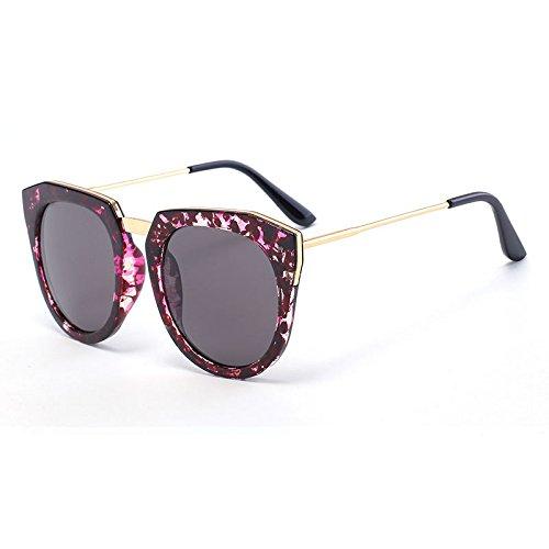 GAOCF Sonnenbrille Schatten Polarisierende Brille Schillernde Reflektierende Farbe Film Frosch Spiegel Sonnenbrille, Gezeiten Vintage Sonnenbrillen Sonnenbrillen , 1 Armani Vintage Sonnenbrille