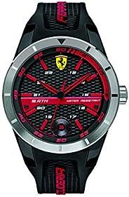 Ferrari 830253 'Red Rev T' Quartz Resin and Silicone Watch, Analog