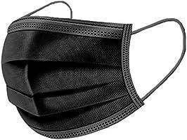 50 Pièces Masque Jetable, Masque Anti-Poussière 3 Couches, Masque Anti-Pollution Unisexe Tissu De Protection Masque...