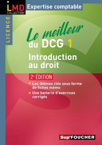 Le meilleur du DCG 1 Introduction au droit 2e edition