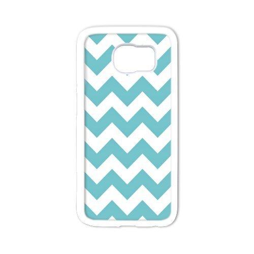 Super Brillant Jour Best Motif chevron Couvre Avec arrière rigide Samsung Galaxy S6Matériau en plastique