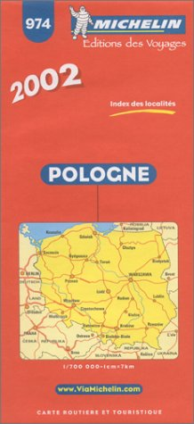Pologne. 1/700 000 par (Carte - Jan 14, 2003)