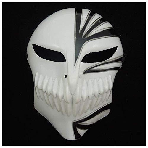 YaPin Halloween Ball Horror Kurosaki EIN Schild Blur Maske Tod Maske Erwachsene Geist Tanz Street Dance Maske Requisiten (Color : Black)
