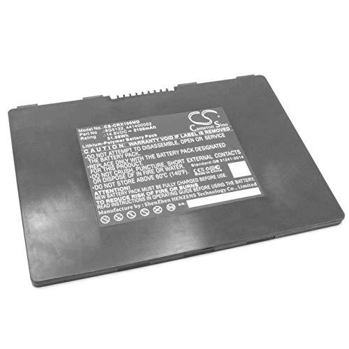 vhbw Li-Polymer Akku 2100mAh (14.8V) für Medizintechnik wie Ultraschallgerät Carestream DRX-1, DRX-1 System Flat Panel Digital Imager 450 -