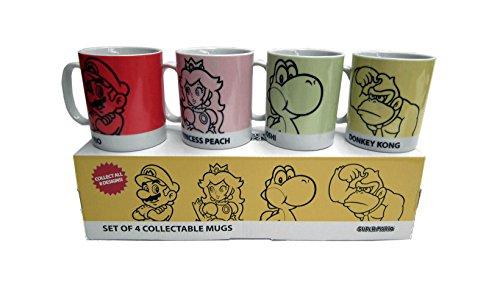 Super Mario da collezione 4 Mug Set