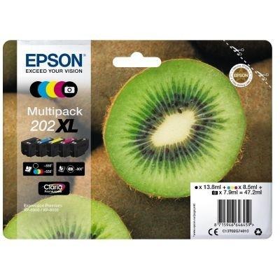 Preisvergleich Produktbild Epson C13T02G74010 Original Tintenpatronen 5er Pack