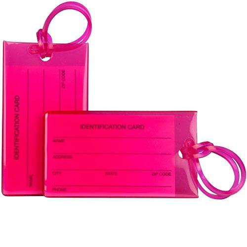Paquete de 7 etiquetas de equipaje TravelMore para...