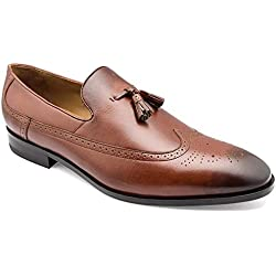 tresmode Men's Brown Leather Formal Shoes