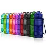 Best Thermos acqua yoga - Bottiglia d'acqua sportiva senza BPA -riutilizzabile borraccia in Review