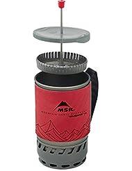 MSR Windburner Coffee Press Kit 1.0L Cooking System Red