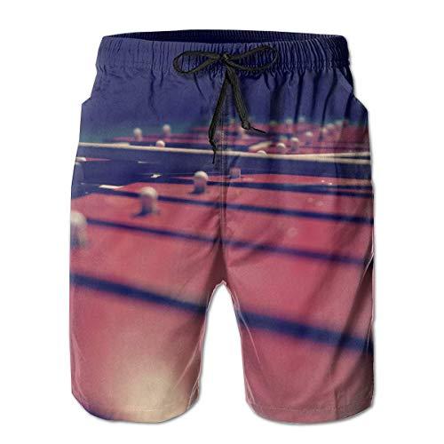 Men's Shorts Pockets Swim Beach Trunk Summer Xylophone Fit-XXL
