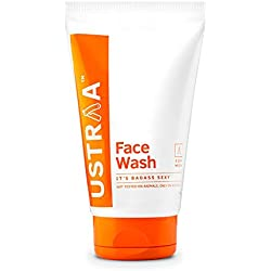 Ustraa Face Wash Tube, Bad Ass Sexy, 100g