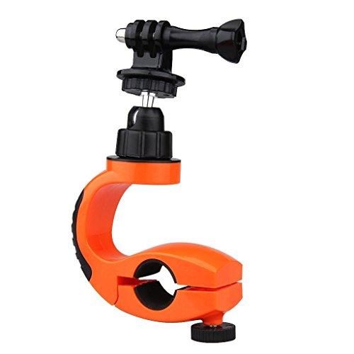 Shoot® Fahrrad Motorrad Halter Halterung Zubehör für GoPro Hero 4 3 2 1 SJ4000 mit 1/4 Zoll Tripod Adapte