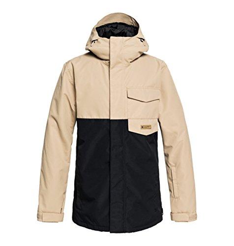 DC Apparel Herren Merchant Jacket Snow, Incense, S