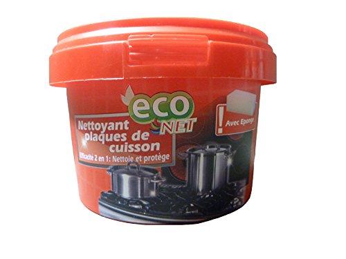 eco-net-juego-de-2-limpiador-placa-de-horno-piedra-de-limpieza-nettoie-y-protege-inclu-esponja-300-g