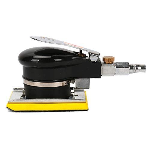 Square Air Sander Grinder Polisher Machine utensili pneumatici 10000rpm per automobile, lavorazione del legno mobili, metallo lucidatura taglia 7,6x 10,2cm telaio