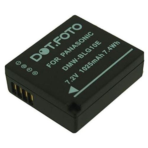 Dot.Foto Batterie de qualité pour Panasonic DMW-BLE9, DMW-BLE9E, DMW-BLG10, DMW-BLG10E - 7,2v / 1025mAh - garantie de 2 ans - Panasonic Lumix DMC-GF3, DMC-GF5, DMC-GF6, DMC-GX7, DMC-GX80, DMC-GX85, DMC-LX100, DMC-TZ80, DMC-TZ81, DMC-TZ100, DMC-TZ101
