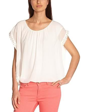 Sinequanone Damen Shirt   - Weiß - Blanc (Blanc) - 34 (Herstellergröße: Taille fournisseur: T1)