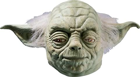 Latex Costume - Rubie's Produit officiel Star Wars Yoda – Masque complet