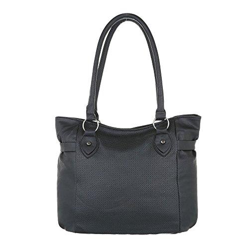 Taschen Handtasche Schultertasche Schwarz