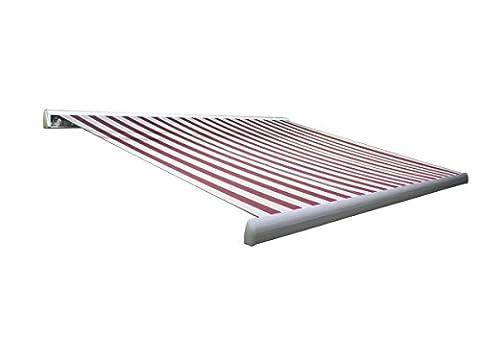 Vollkassettenmarkise weiß, 400x300 cm m.