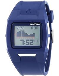 Nixon Lodown II Navy - Reloj de cuarzo para hombre, correa de plástico color azul