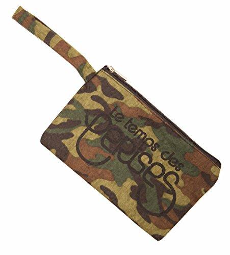 Le Temps des Cerises Pochette Eco 6 Camouflage