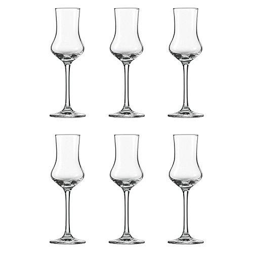Schott Zwiesel 106225 \'Classico\' Grappakelch, Grappa-Glas 95ml, klar (6 Stück)