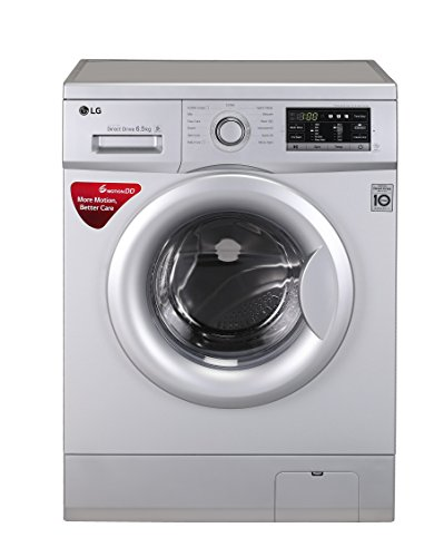LG 6.5 kg Inverter Fully-Automatic Front Loading Washing Machine (FH0G7WDNL52.ALSPEPL, Silver)