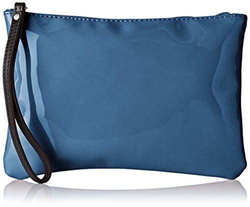 Bensimon - Zipped Pocket, Pochette Donna Blu (Marine)