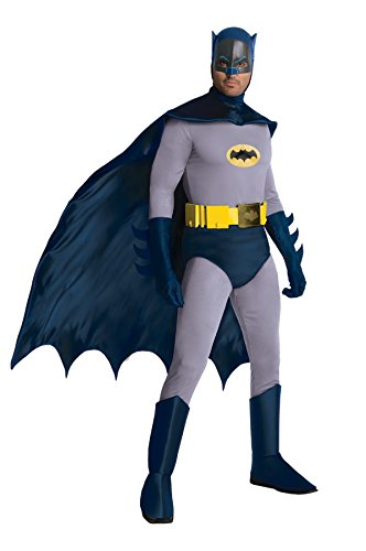 Batman Deluxe Grand Heritage Kostüm 1966 - Größe - Grand Heritage Batman Kostüm