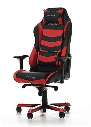 DXRacer Asientos de juego IRON Gaming Chair, negro