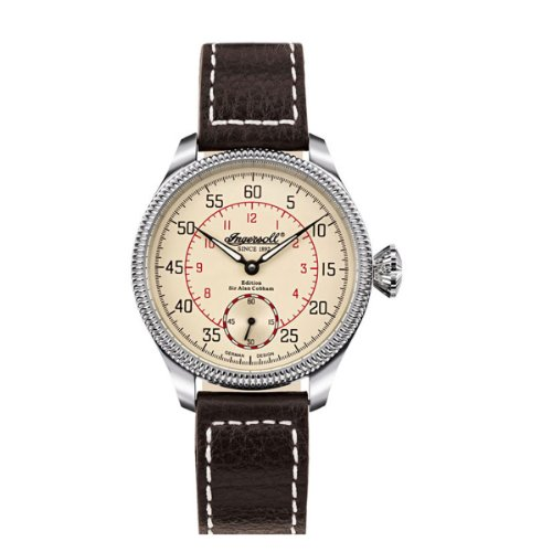 Ingersoll Men's Automatic Watch S.A.COBHAM IN1001CR with Leather Strap