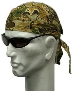 Bandana militaire préformé US Army - Extreme Camouflage - Serrage ajustable - Airsoft - Paintball - Moto - Biker - Outdoor