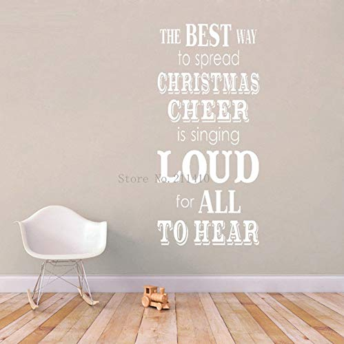 Primitive Weihnachten Wandaufkleber Der beste Weg, um Weihnachten Abziehbilder Wohnzimmer Urlaub Dekor selbstklebende Wandbilder 42x92cm zu verbreiten (Weihnachten Dekor Primitive)