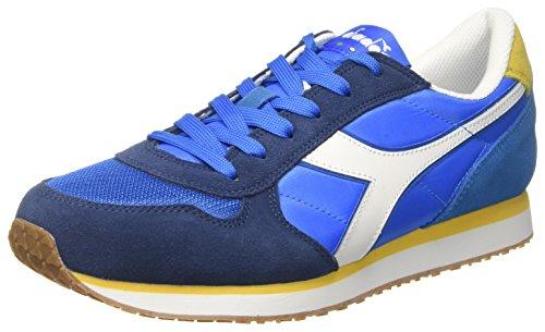diadora-herren-k-run-ii-sneaker-low-hals-blau-blu-micro-giallo-met-blu-estat-445-eu