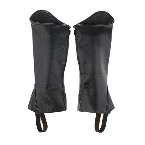 FLAMEER 1 Paar Reitgamaschen Beinschut mit Reißverschluss für Kinder - XL