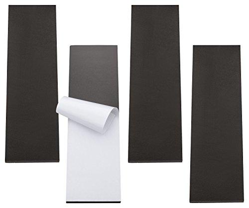 TOPP4u Kantenschutz, Wandschutz, Türschutz für Auto und Garagenwand, selbstklebend, Türkantenschutz für Garage und Carport, 4 extra dicke Schutzmatten für maximalen Schutz, je 40x12x1,5 cm Test