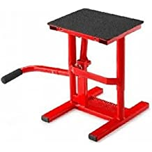 BEQUILLE STAND MOTO CROSS ROUGE