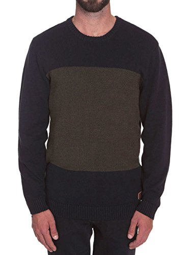 Volcom Herren Pulli Antys Crew Sweater Ink Black