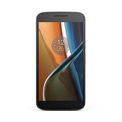 Lenovo Moto G4 Smartphone LTE, Fotocamera 13 MP, Schemo 5.5 pollici Full HD, Processore Octacore 1.5 GHz, 2 GB di RAM, 16 GB di Memoria Interna espandibile fino a 128 GB, Nero [Italia]