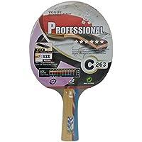 Kounga Giant Dragon Professional Pala de Ping Pong, Unisex Adulto, Rojo/Negro, Talla Única