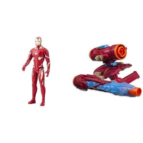 AVENGERS TITAN HERO SERIES IRON MAN with Assembler Gear