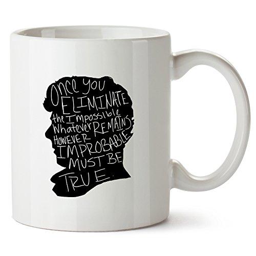 Sherlock Mug Tazza Portrait