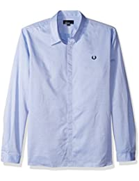 Fred Perry Men's Concealed Placket Shirt